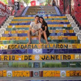 Rio - escaliers de Selaron