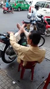 Moto à HCMC