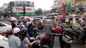 Quand le trafic arrive dans tous les sens…