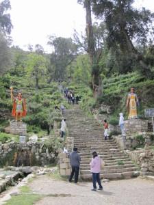 Escaliers Isla del Sol
