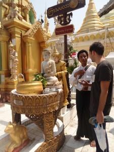 Explication de rites bouddhistes