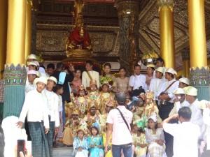 Shwedagon Paya initiation ceremony