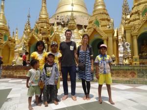 Laluce with kids @Shwedagon