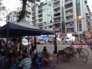 Yangon teashops