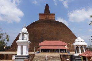 La stupa Abhayagiri
