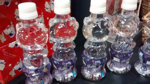 Même les bouteilles sont à son effigie!