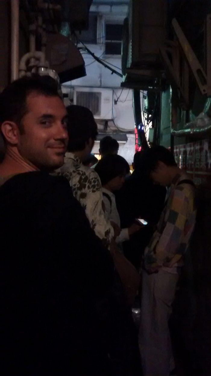 Dans la queue du Nagi