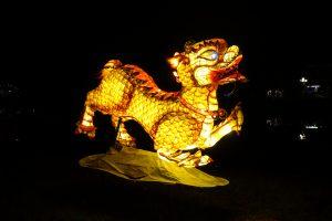 Sculpture illuminée
