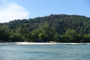 Flora Bay vue de la mer