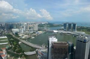 Vue sur Singapour