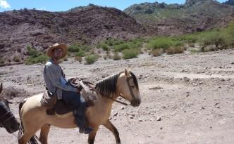 Horseriding in Tupiza