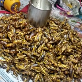 Yangon street snacks